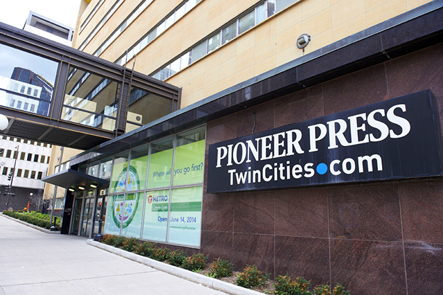 Pioneer Press Headquarters in downtown St. Paul to become Apartments