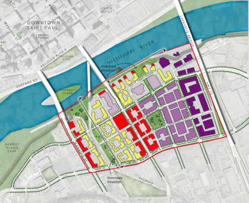 St. Paul Modifies West Side Flats Development Plan