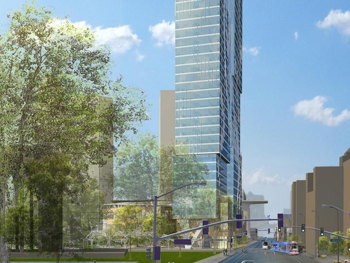Gateway Tower Plan Loses Apartment and Hotel Partners