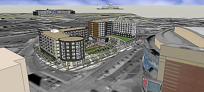A New Radisson RED is Coming to St. Paul Across from Xcel Energy Center