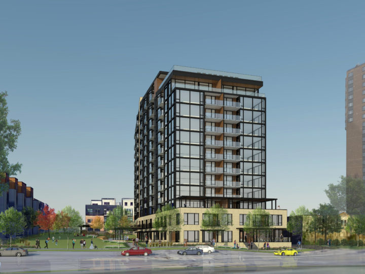 Brickstone Partners Proposes Development Plans for Marquee Lake Calhoun Site
